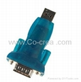 USB to RS232 Dongle with Extension Cable