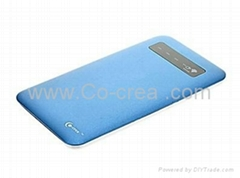 4000mAh mobile power for iphone/blackberry/samsung/nokia/htc