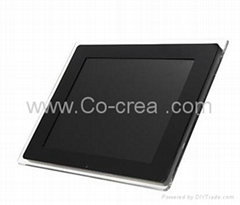 2014Hot-selling 12-inch Multi-function Digital Photo Frame Advertising Player