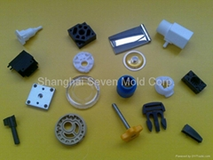 plastic injection moulding molded part
