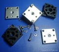 plastic and metal stamped moulding parts