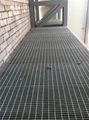 Ga  anized steel grating