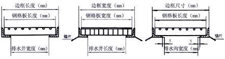 沟盖板安装示意图