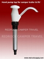 Hand pump tap for camper trailer & RV
