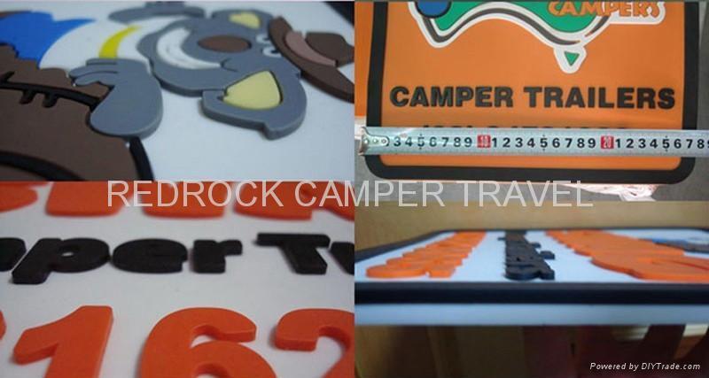 Raised mudflap - Redrock trailer accessories 1