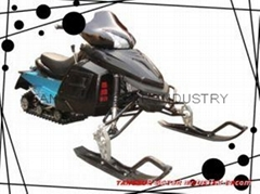 300cc snowmobile