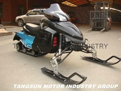 TS300CC Snow Mobile , Snowmobiling , Snow Slide