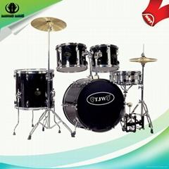 Normal standard 5 pcs PVC Jazz Drum set for sale