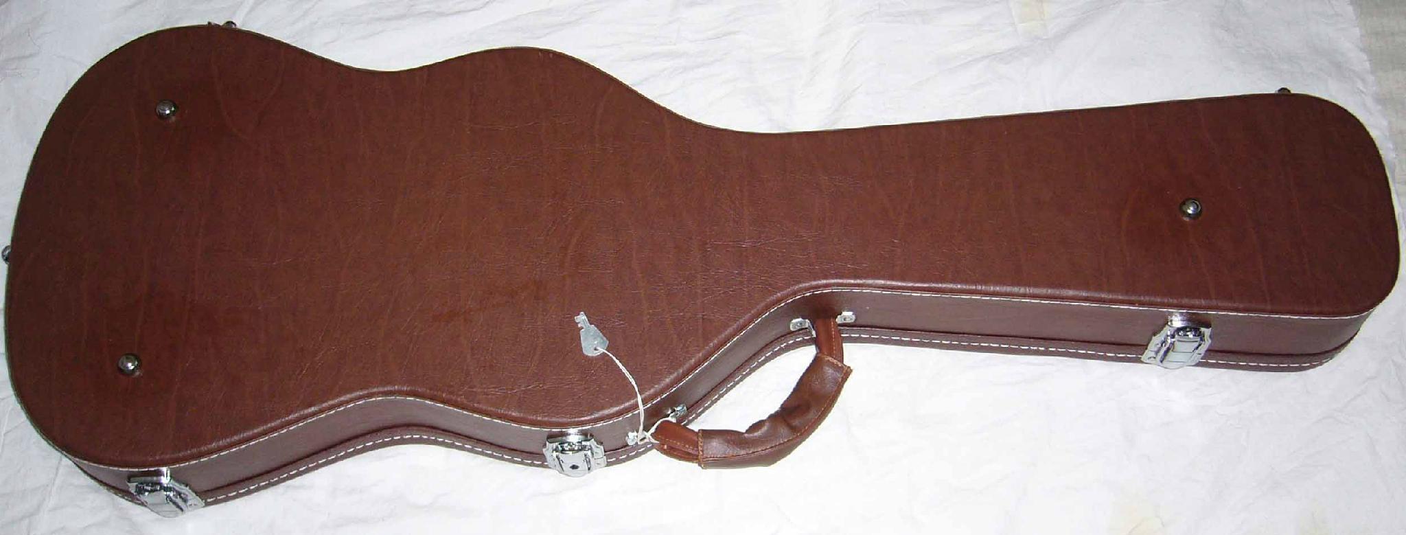 high quality leather guitar case sc 3 custom china manufacturer musical instrument. Black Bedroom Furniture Sets. Home Design Ideas