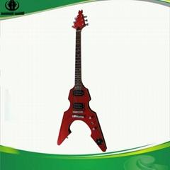 V Type Electric Guitar/Custom Electric Guitar/OEM Electric Guitar