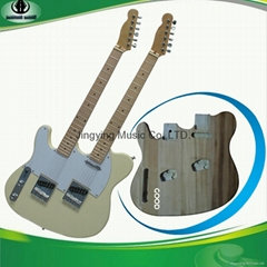 Double Neck TL Style Electric Guitar,Custom Guitars
