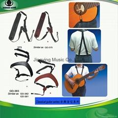 Classic Guitar Series High Class Genuine Leather Guitar Strap,Guitar Belts