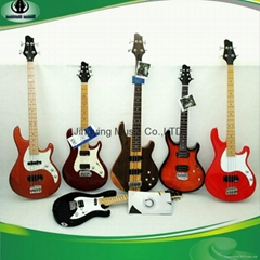 Bass Guitars and Electric Guitars with Custom Brand