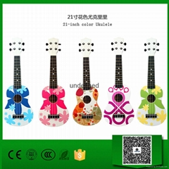 China 21 Inches Color Ukulele