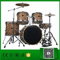 Normal standard 5 pcs cellulloid Jazz Drum set for sale