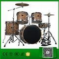 Normal standard 5 pcs cellulloid Jazz Drum set for sale