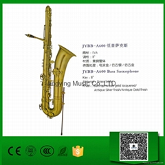 Baritone Saxophone and Bass Saxophone