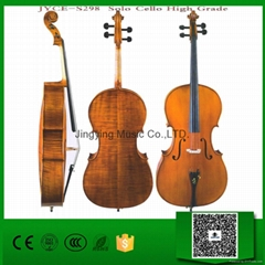 Over 25 years wood, Handcraft,Hand Painting High Grade Solo Cello