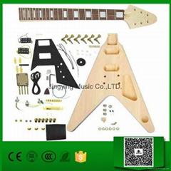 Flying V DIY electric guitar kit