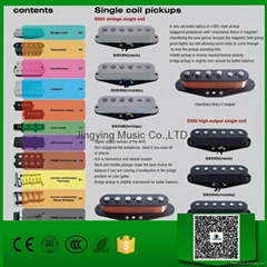 Guitar Pickups, Single Coil Pickups