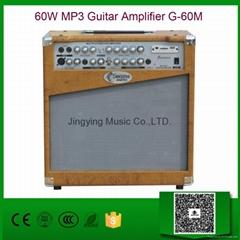 60W MP3 Guitar Amplifier