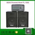 800W Powered Mixer FL-1000
