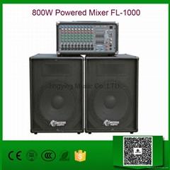 800W Powered Mixer FL-10