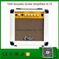 15W Acoustic Guitar Amplifiers A-15