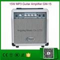 15W MP3 Guitar Amplifier GM-15