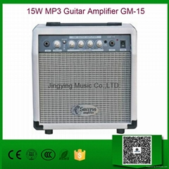 15W MP3 Guitar Amplifier