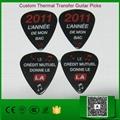 Thermal Transfer Guitar Picks
