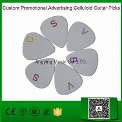 Custom Promotional Advertising Celluloid Guitar Picks