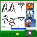 Classic Guitar Series High Class Genuine Leather Guitar Strap,Guitar Belts