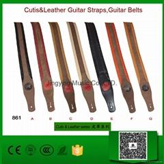 Cutis&Leather Guitar Straps,Guitar Belts