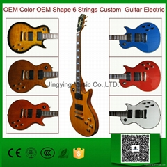 Do OEM Color OEM Shape Custom Electric Guitar