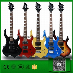 Wholesale Available in various colors Flame Shape Electric Guitar