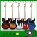 Wholesale Phoenix Wood TL Style 6 Strings Electric Guitar Factory