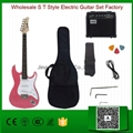 Wholesale S T Style Electric Guitar Set Factory