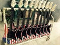 Wholesale 6 Strings Skull/Ghost/Flag/Rose Pinup Picture Electric Guitars Factory