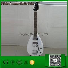 6 Strings Teardrop Elect