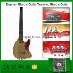 Acoustic Electric Guitar/Elephant Guitar/Traveling /Portable Type Guitar