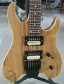 Spalted Maple Electric Guitar/Very Beautiful Custom Electric Guitar