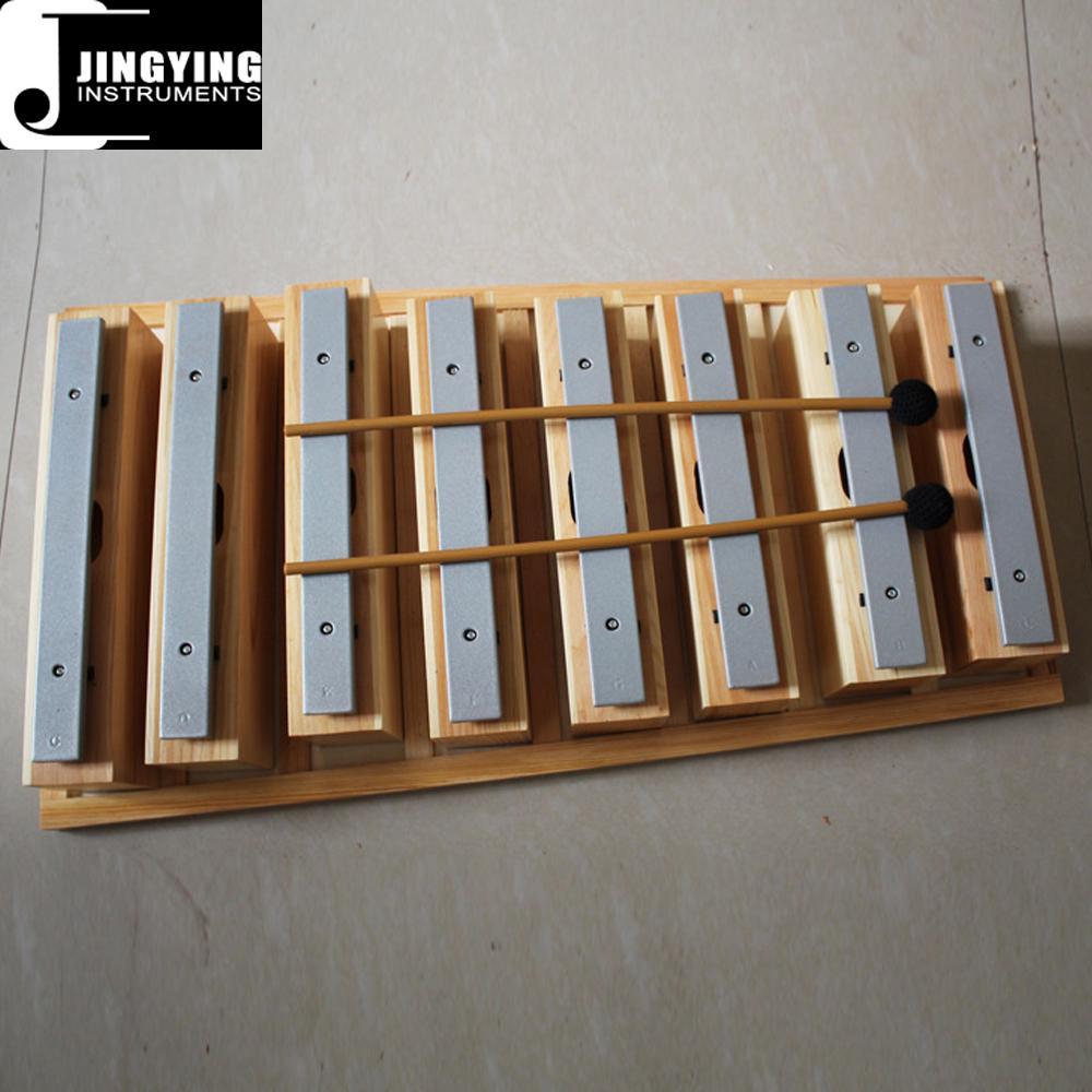 8 tone xylophone bars,sound brick,percussion instruments