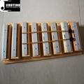 8 tone xylophone bars,sound brick