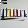 Popular bar xylophone,8 Tone Colorful Xylophone Bars,Sound Brick