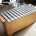 13 Tone Solid Wood Box Body Soprano&Alto&Bass Aluminum Metallophone