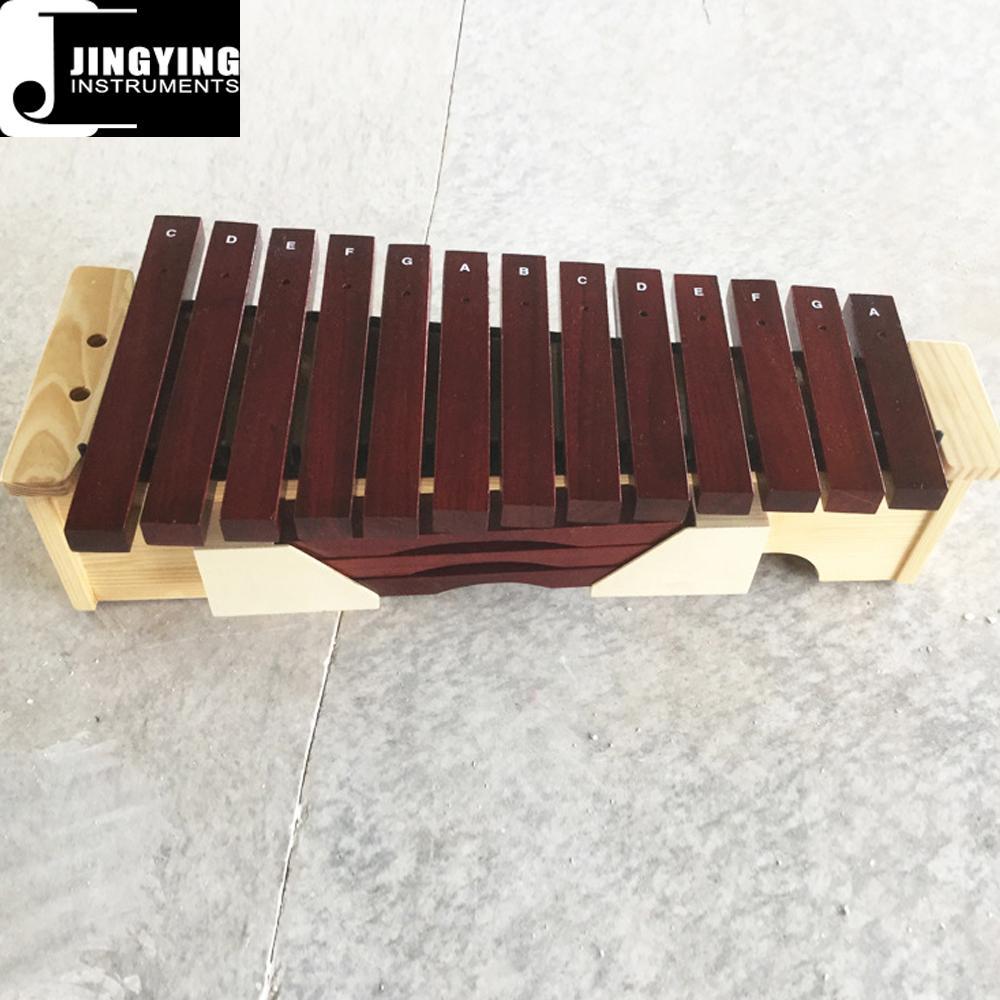 13 Tone Red Wood Box Body Soprano&Alto&Bass Xylophone 8