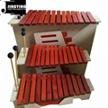 13 Tone Red Wood Box Body Soprano&Alto&Bass Xylophone 1