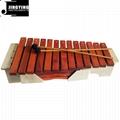 13 Tone Red Wood Box Body Soprano&Alto&Bass Xylophone 3
