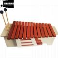 13 Tone Red Wood Box Body Soprano&Alto&Bass Xylophone 2